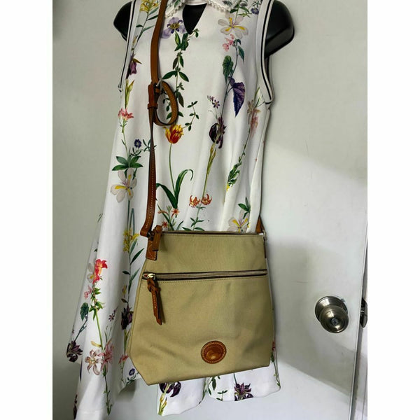 DOONEY & BOURKE Tan Brown Crossbody Bag