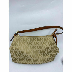 Michael Kors Women's Tan Small Fabric Tote Bag