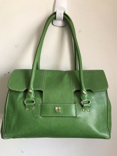 KATE SPADE Green Leather Hand Bag
