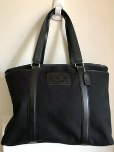 COACH Fabric Tote Bag