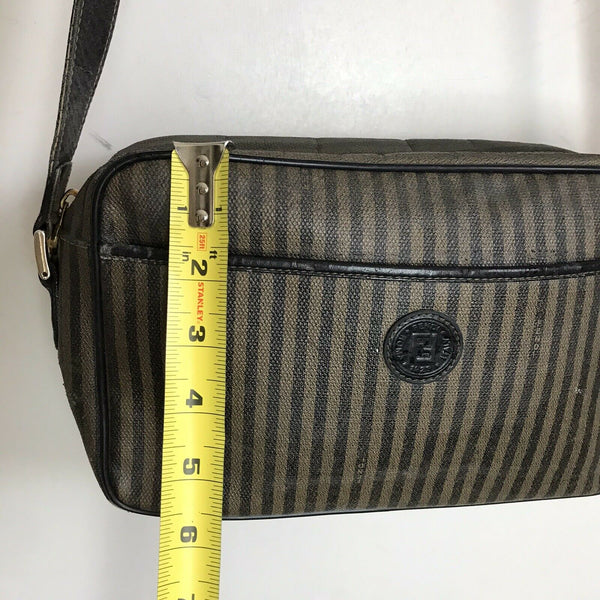 FENDI Vintage Canvas Crossbody Bag Needs TLC