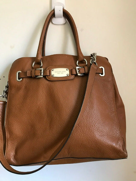 Michael Kors Large Leather Tote Brown