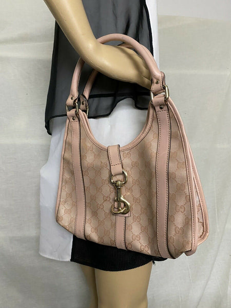 GUCCI Pink Jackie O hobo bag Msrp $ 1,800
