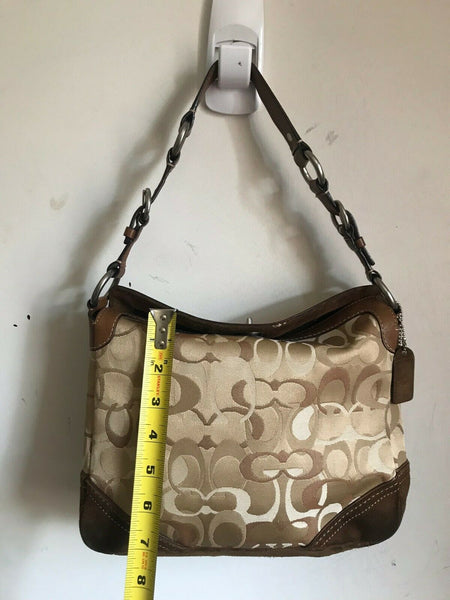 Coach Jacquard Fabric Bag