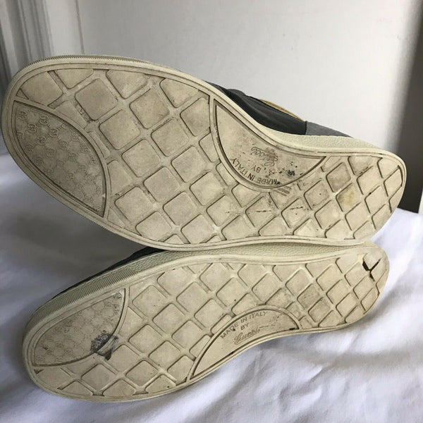 GUCCI Signature  Canvas Shoes Sz 9
