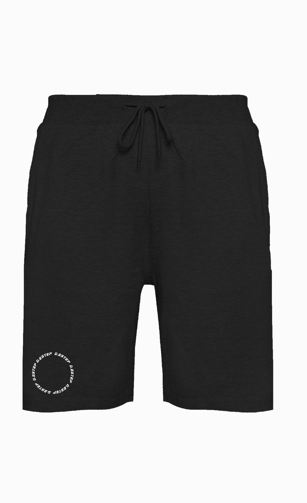"BLACK ""Outer Space"" Sweatshorts"
