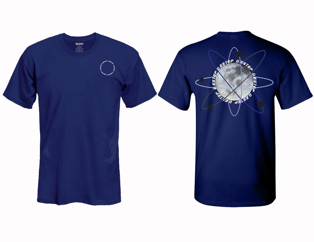 "NAVY ""Outer Space"" tee"