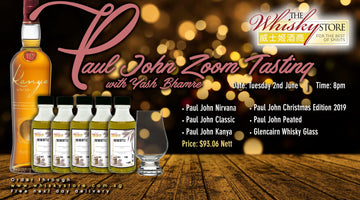 Tuesday 2nd June - Paul John Zoom Tasting with Yash Bhamre