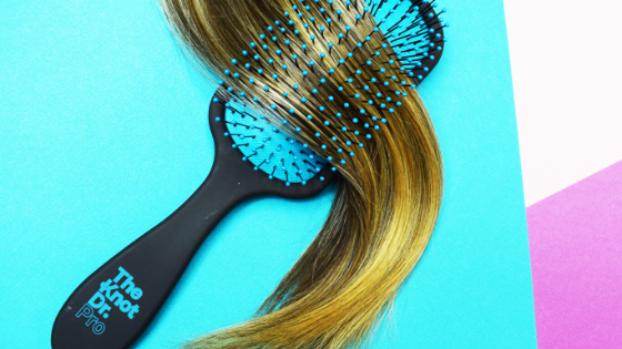How to take care of fine and soft hair that are prone to tangles when wet?
