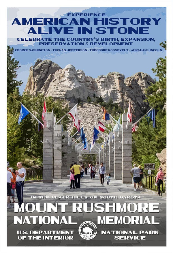 Celebrating Mount Rushmore's Anniversary October 31