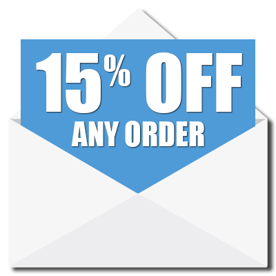 15% Off Any Order