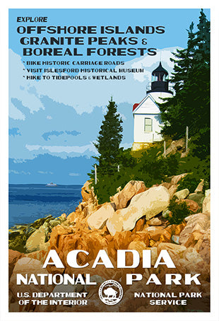 National Park Posters Wpa Style Posters Prints More