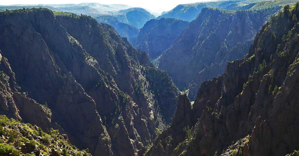 Black Canyon of the Gunnison | National Park Posters
