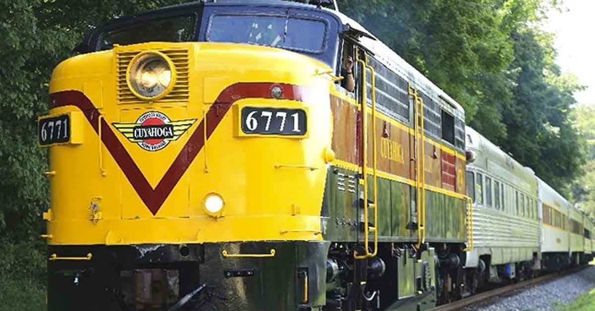 Ride the Scenic Train | Cuyahoga Valley National Park