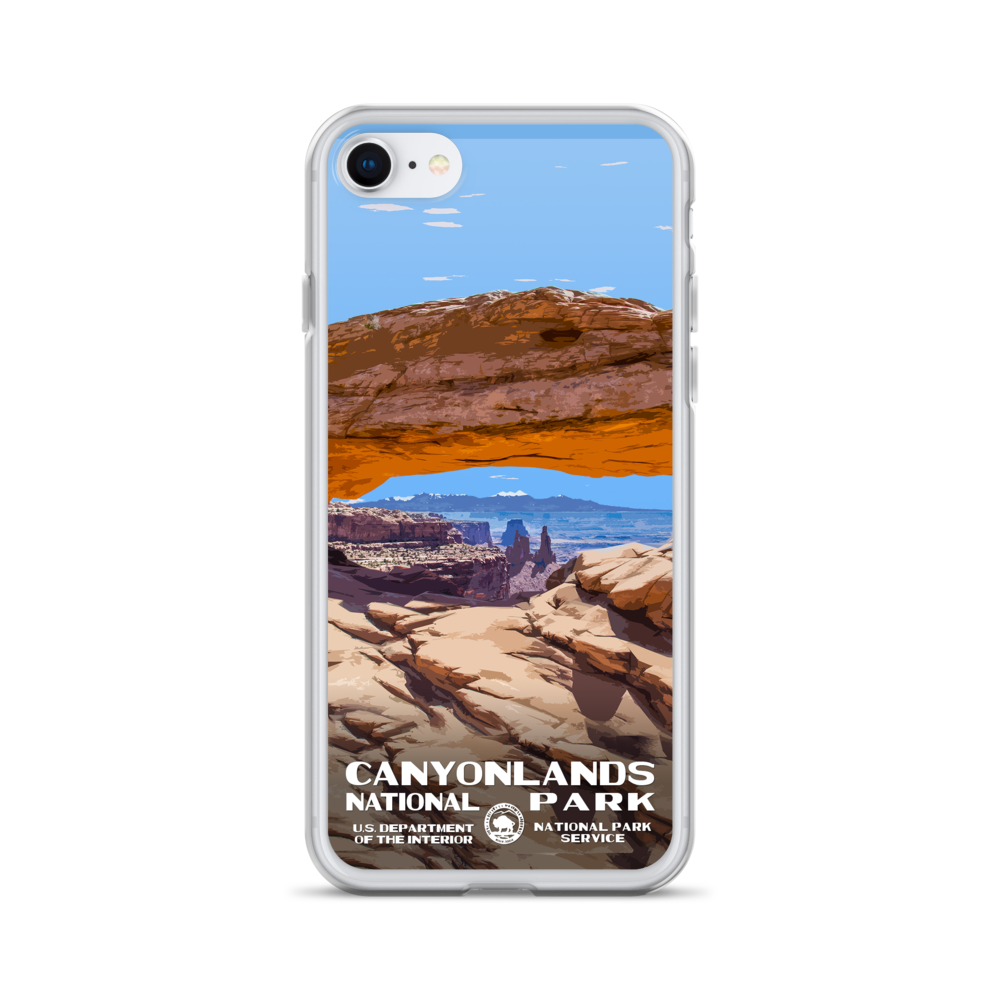 Canyonlands National Park iPhone Mockup | National Park Gear