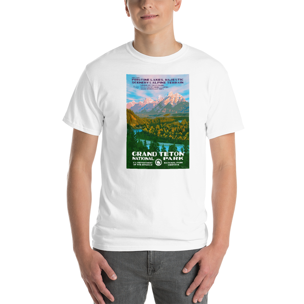 Grand Teton With Text