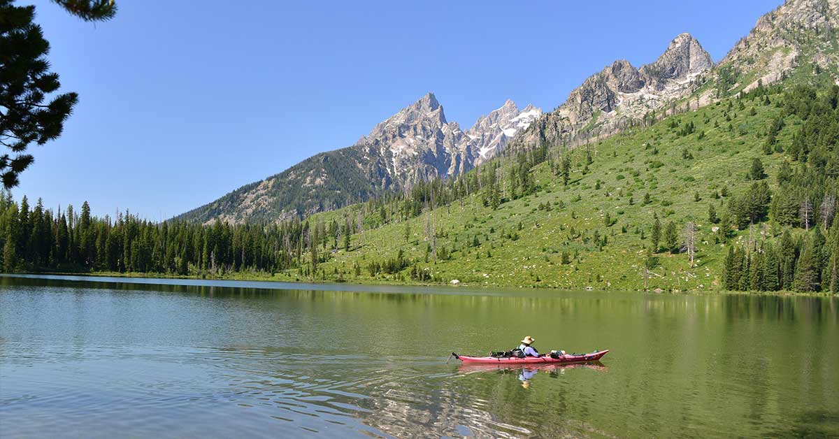 Boating, Grand Teton National Park