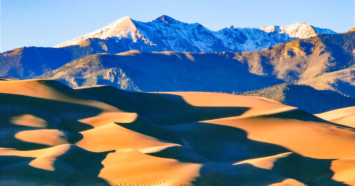 Great Sand Dunes National Park | National Park Posters