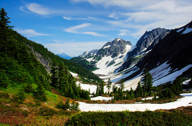 Hiking, North Cascades   National Park Posters