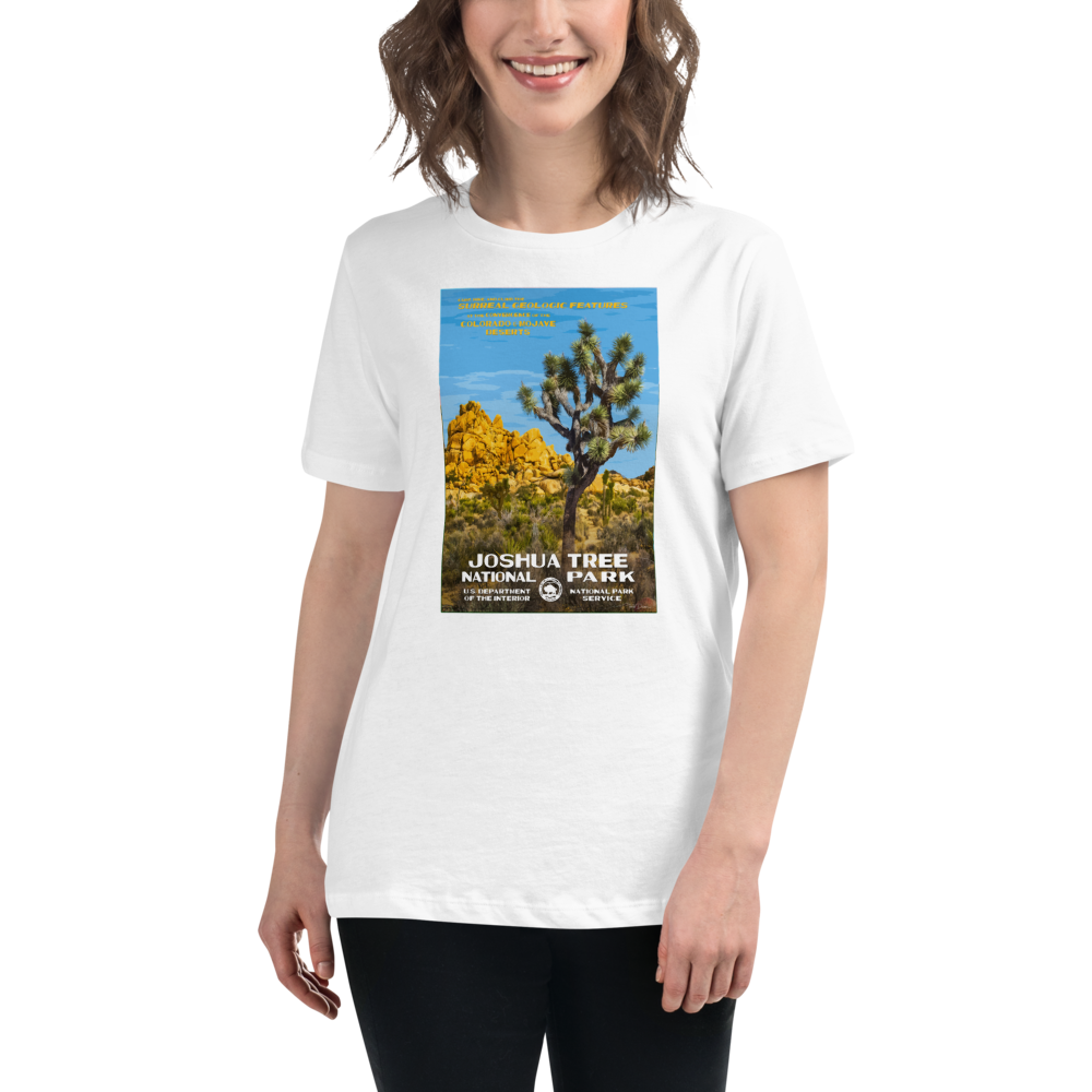 Joshua Tree National Park With Text
