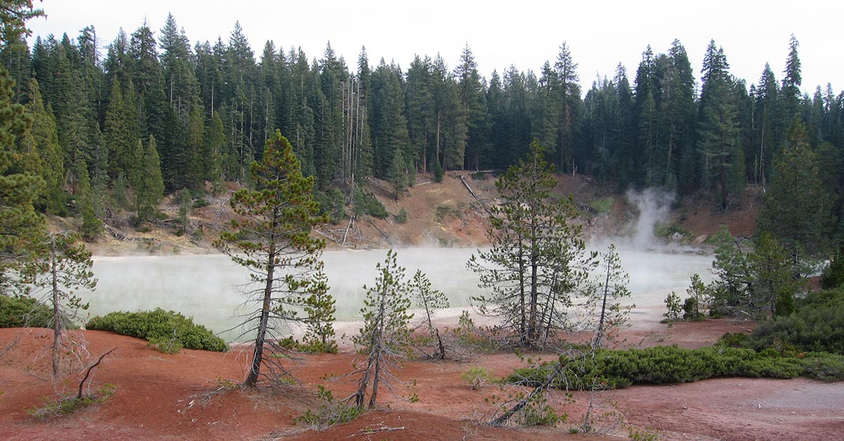 Boiling Springs Lake, Lassen Volcanic National Park