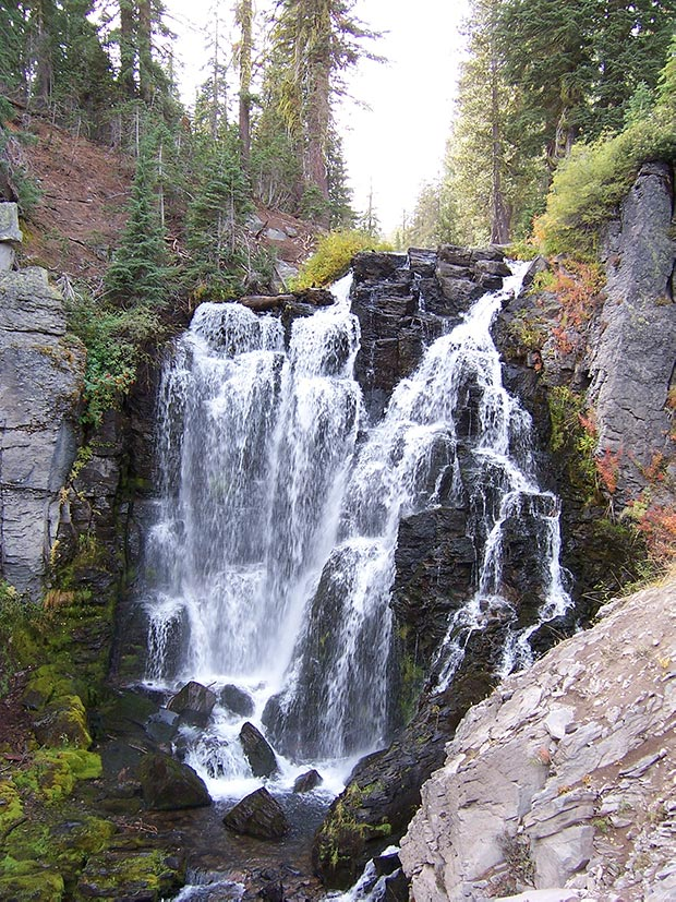 Kings Creek Falls, Lassen Volcanic National Park