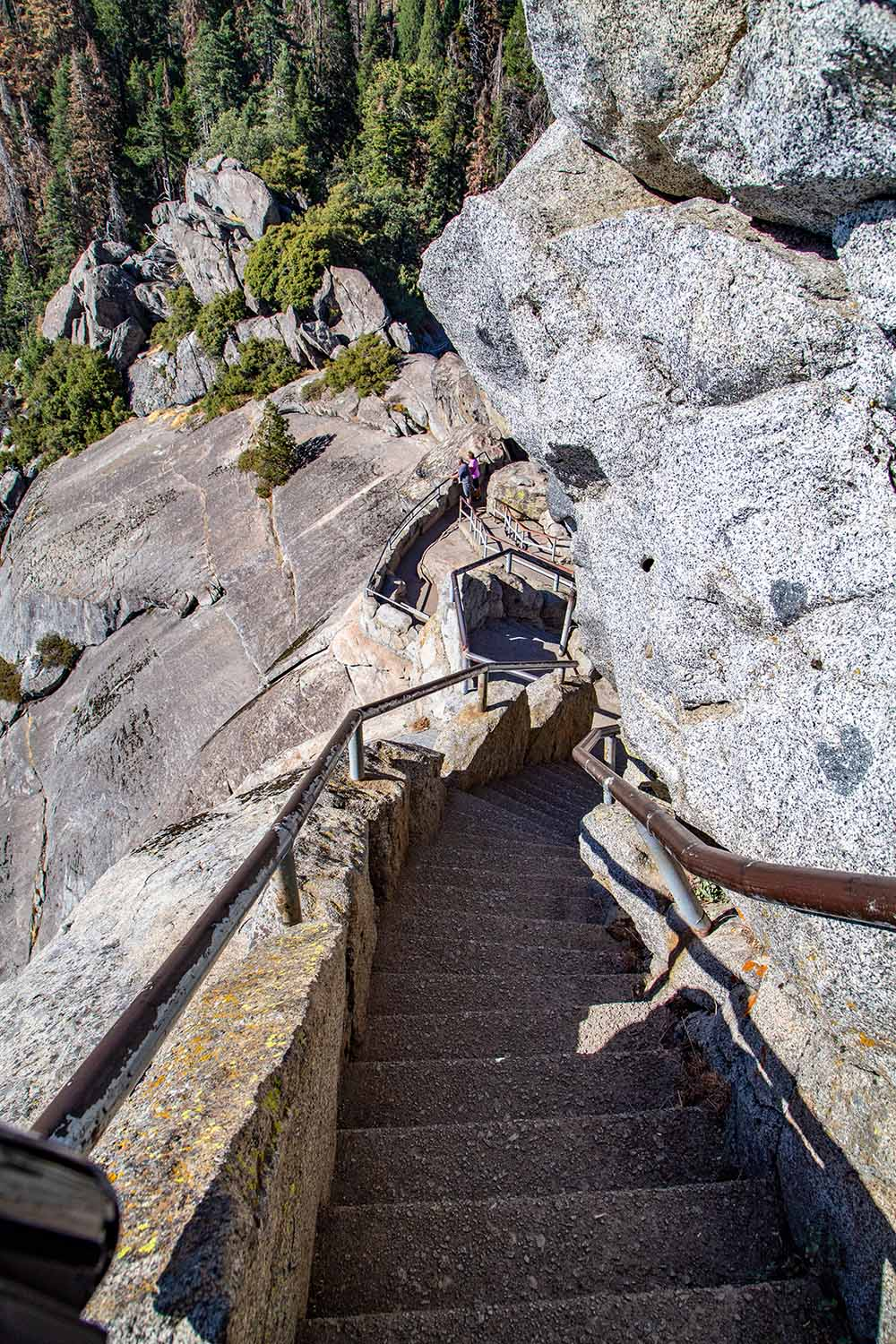 Sequoia National Park, Moro Rock Stairs