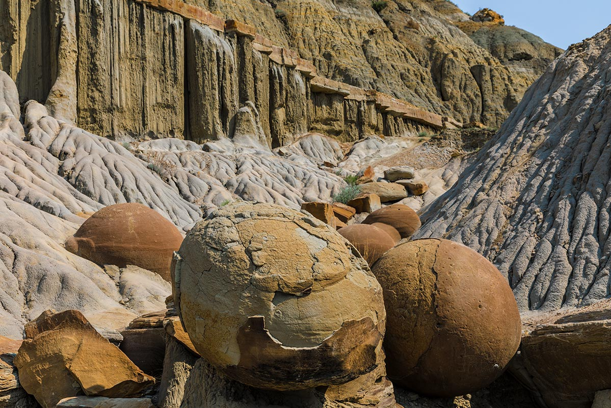 Cannon Ball Concretion, Theodore Roosevelt National Park | National Park Posters