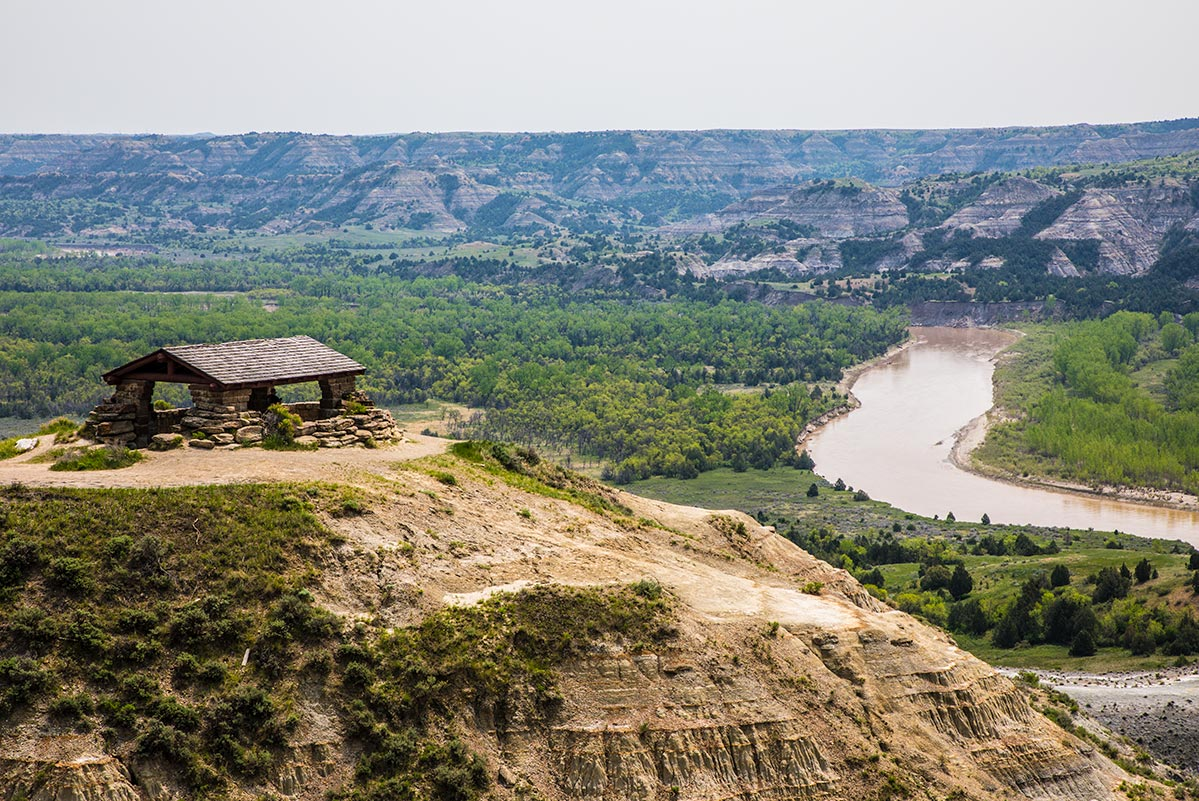 North Unit Scenic Drive, Theodore Roosevelt National Park | National Park Posters