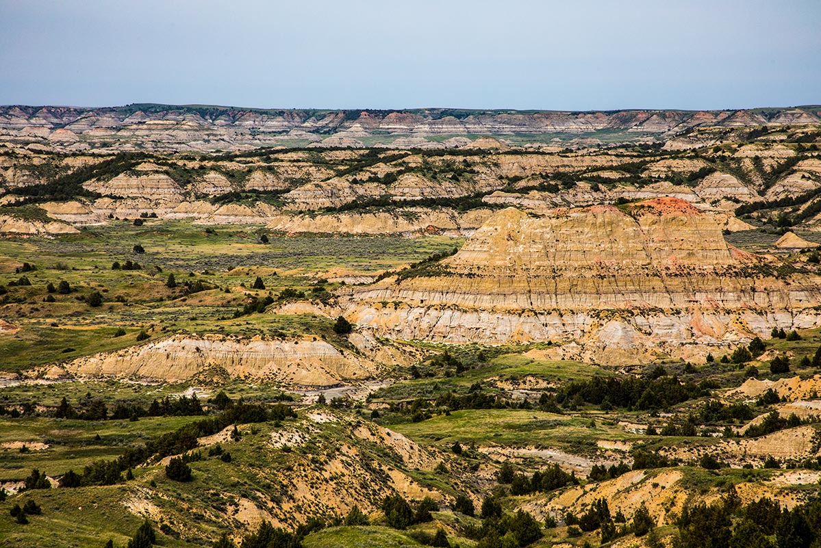 Painted Canyon, Theodore Roosevelt National Park | National Park Posters