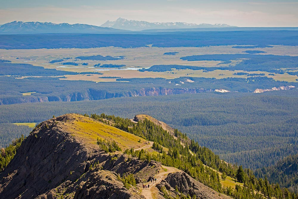 Mount Washburn, Yellowstone National Park   National Park Posters
