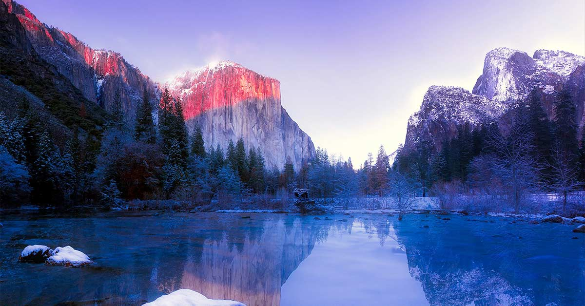 Winter, Yosemite National Park