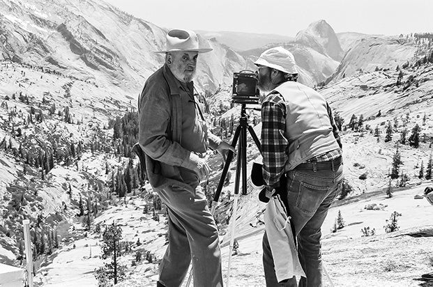 Photographing Yosemite with Ansel Adams