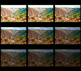 Black Canyon HDR Sequence