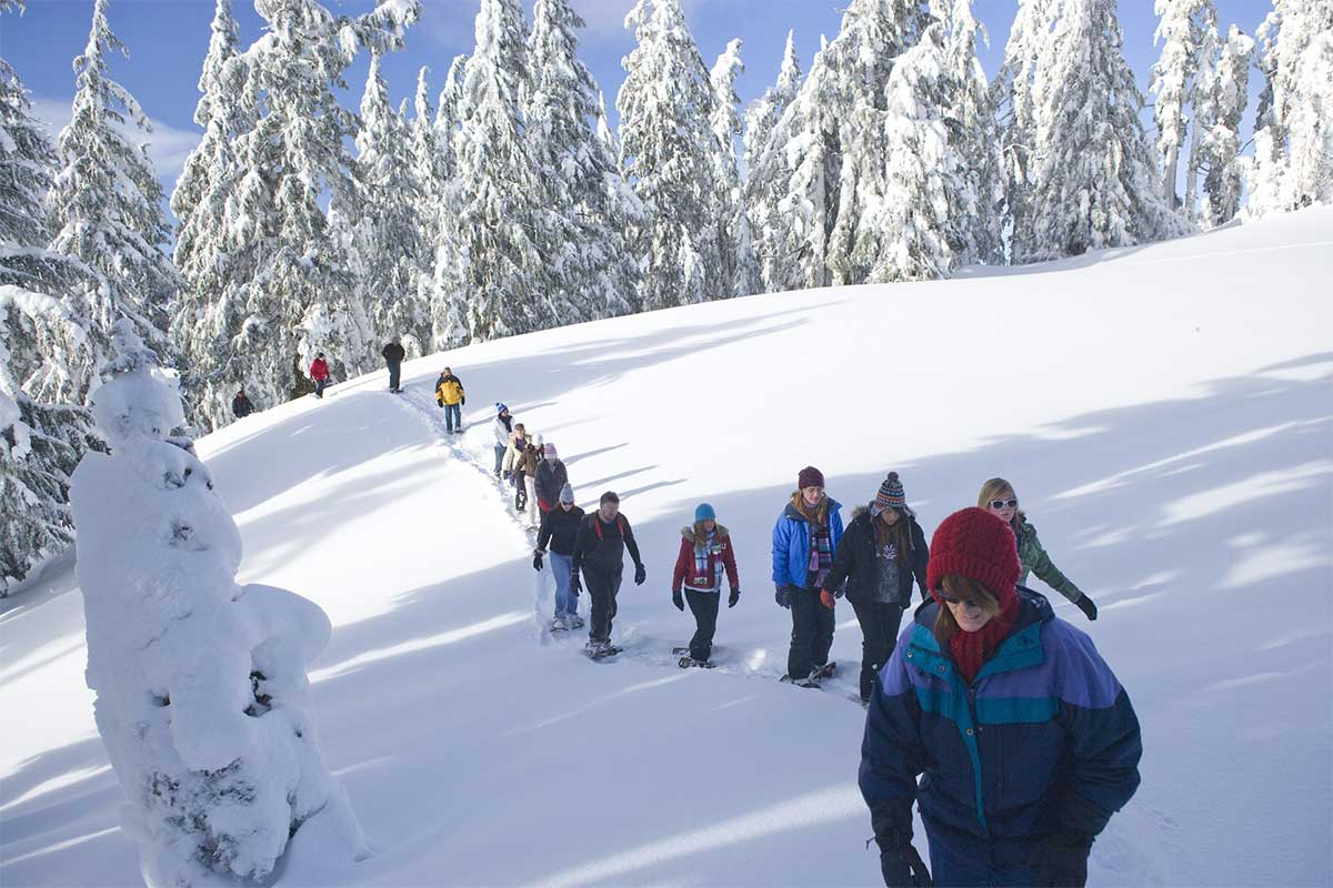 Snowshoe Hike | Crater Lake National Park