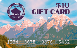 $10 National Park Posters Gift Card