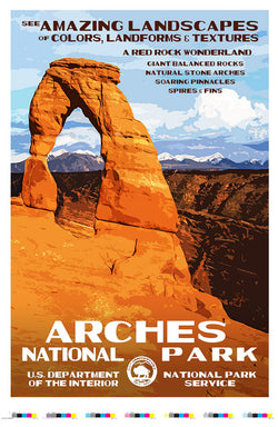 Arches National Park Artist Proof 50th Anniversary Edition