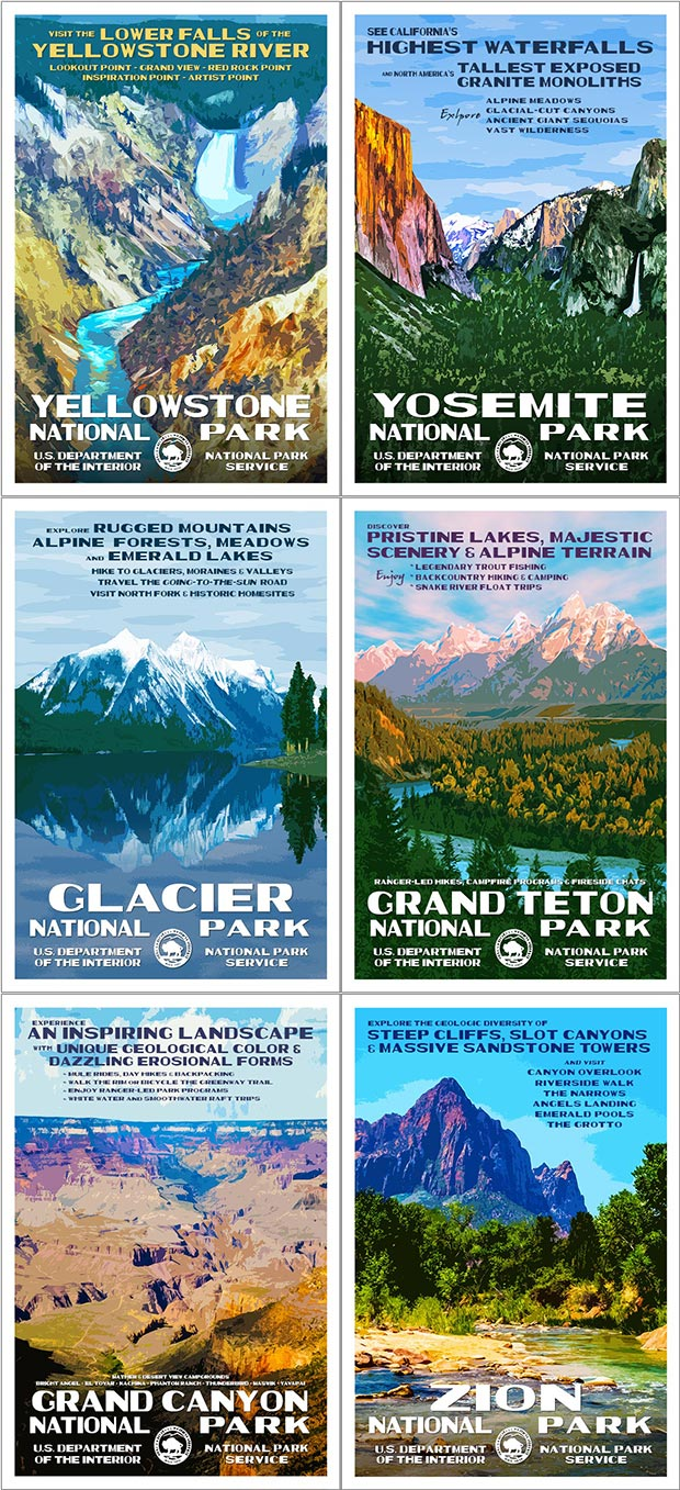 Artist Pick Collection | National Park Posters