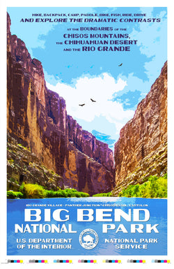 Big Bend National Park Artist Proof