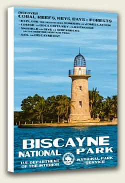 Biscayne National Park Canvas Print