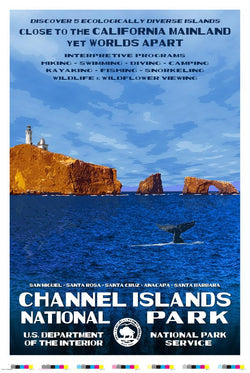 Channel Islands National Park Artist Proof