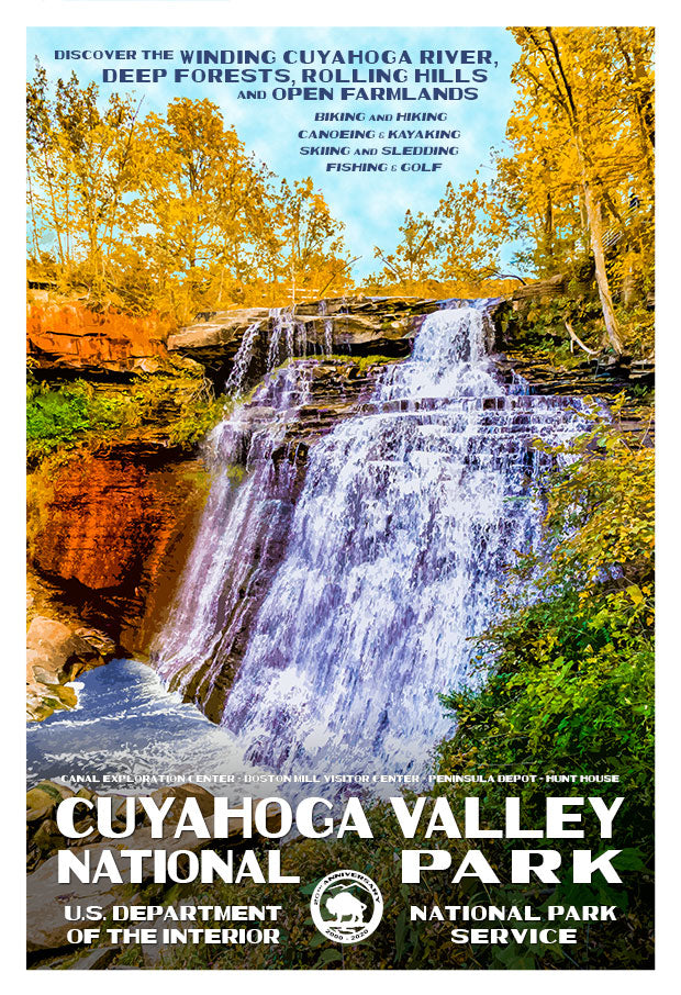 Cuyahoga Valley National Park 20th Anniversary Limited Edition