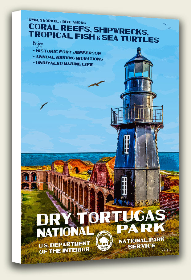 Dry Tortugas National Park Canvas Print