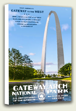 Gateway Arch National Park Canvas Print