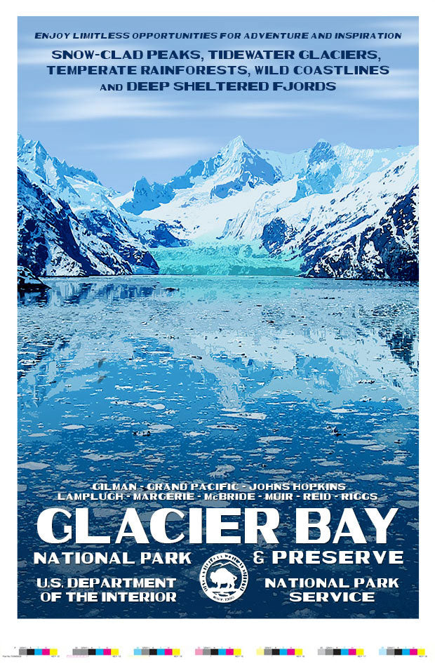 Glacier Bay National Park & Preserve Artist Proof