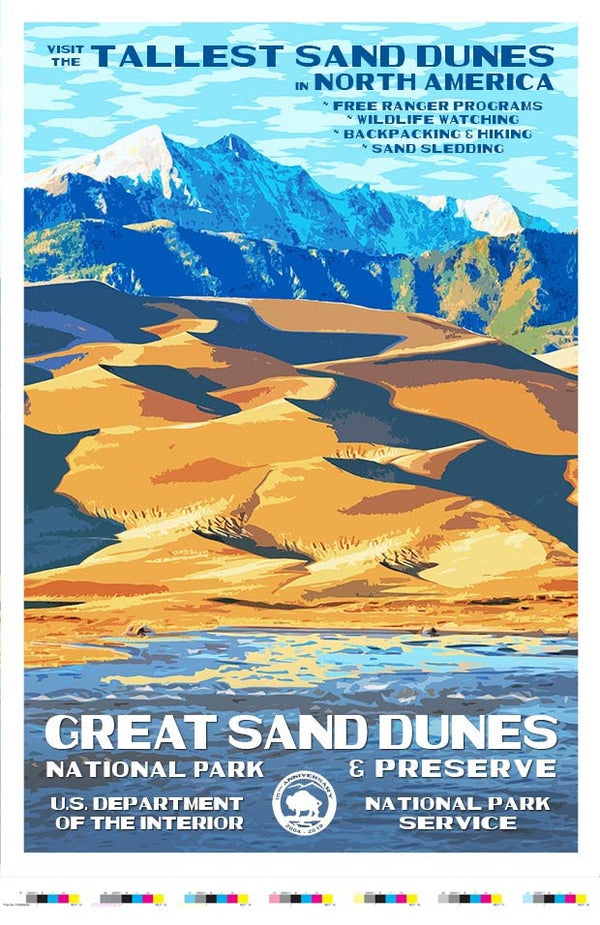 Great Sand Dunes 15th Anniversary Artist Proof