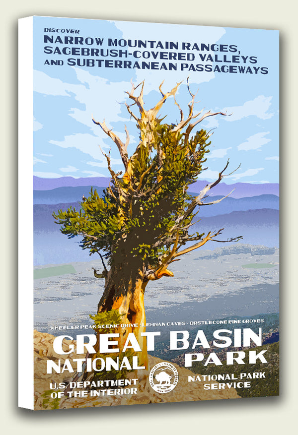 Great Basin National Park Canvas Print