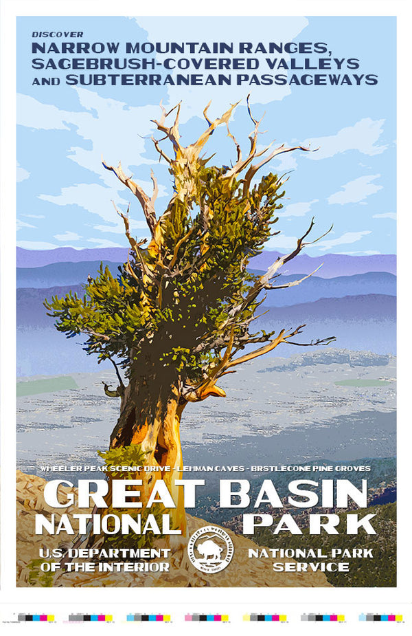 Great Basin National Park Artist Proof