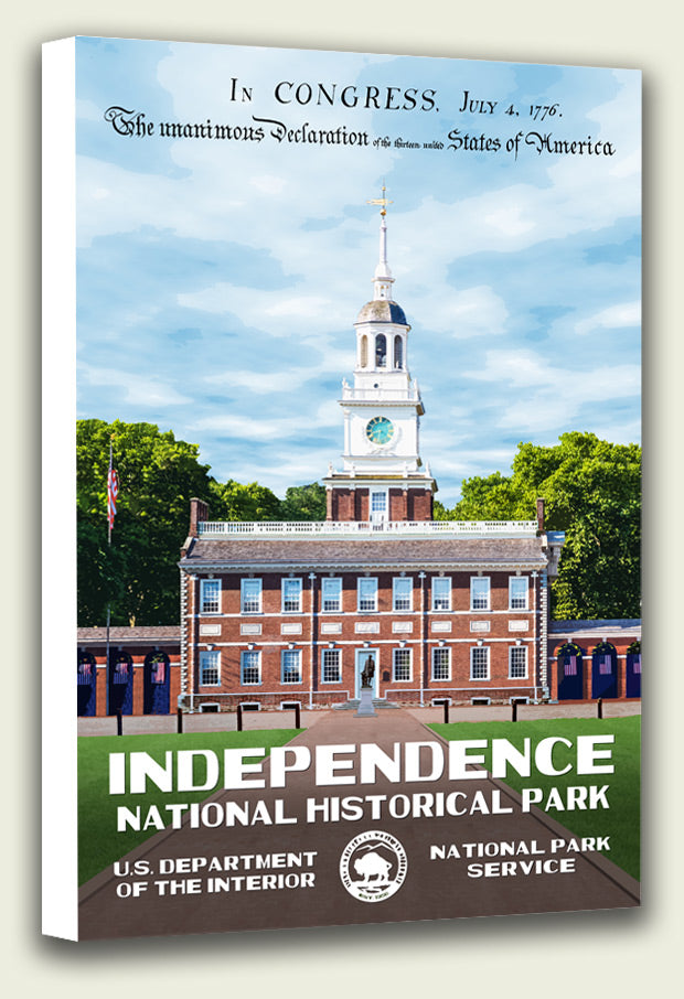 Independence National Historical Park Canvas Print
