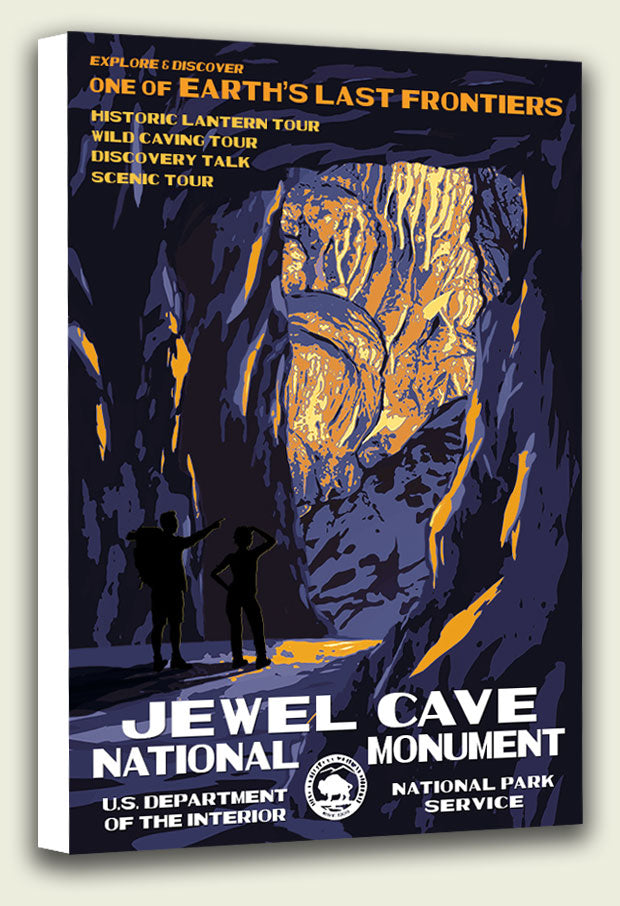 Jewel Cave National Monument Canvas Print